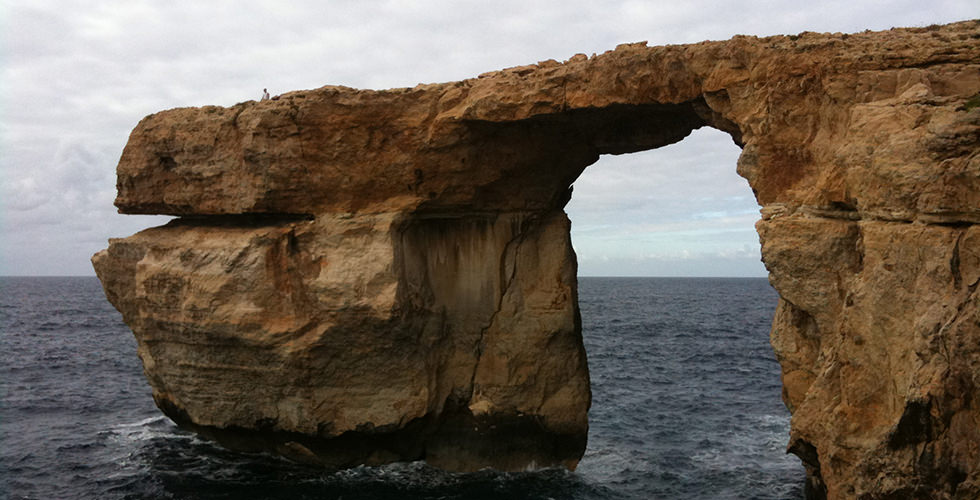 The Azure Window in Gozo, Malta