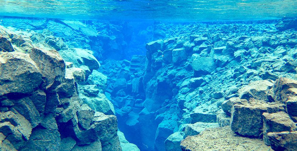 Diving the Big Crack, Silfra, Iceland