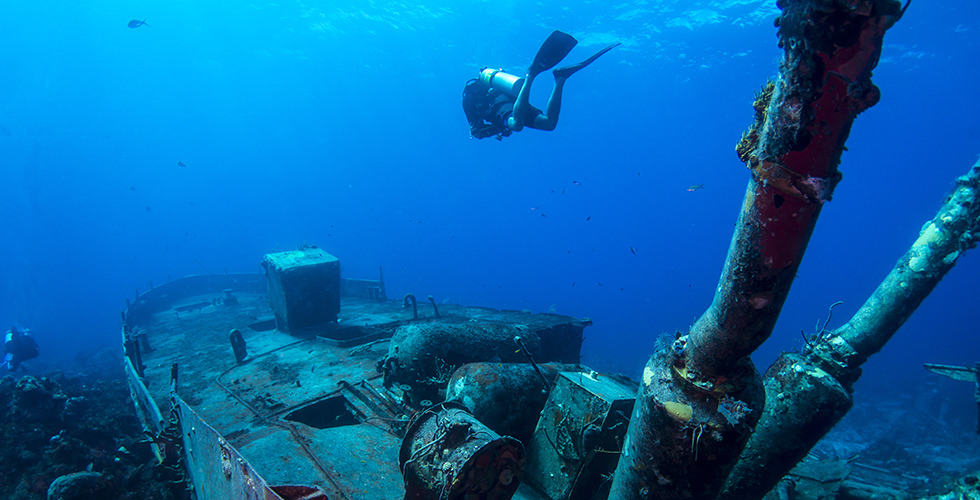 Wreck diving in Croatia