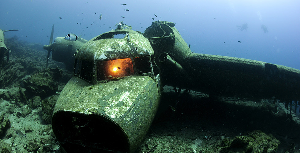 Dangers of wreck diving
