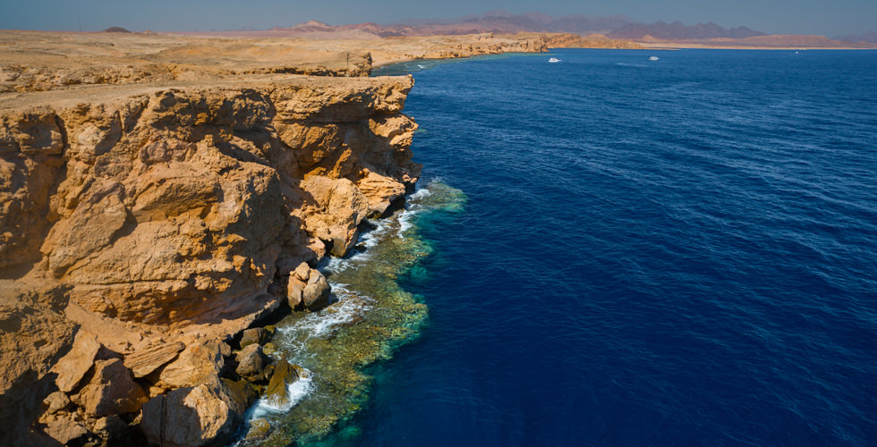 Egyptian coast